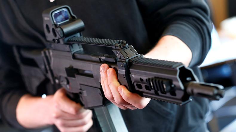 """Tödliches """"Made in Germany"""": Prozess gegen Heckler& Koch wegen illegaler Waffenexporte"""