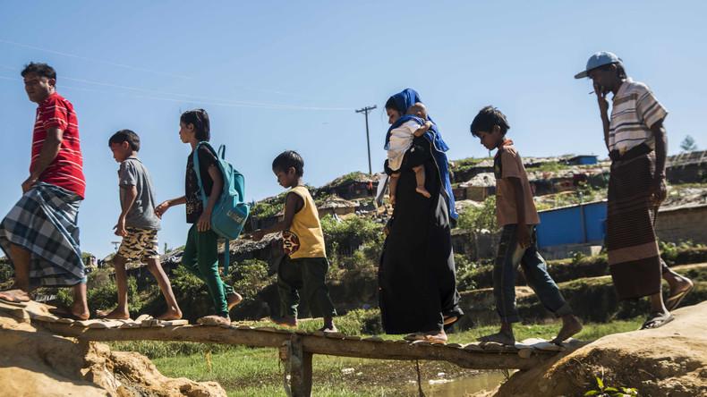 Tausende Rohingya vor Monsun in Sicherheit gebracht