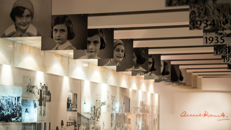 Verborgene Seiten im Tagebuch von Anne Frank nach 70 Jahren erstmals zugänglich