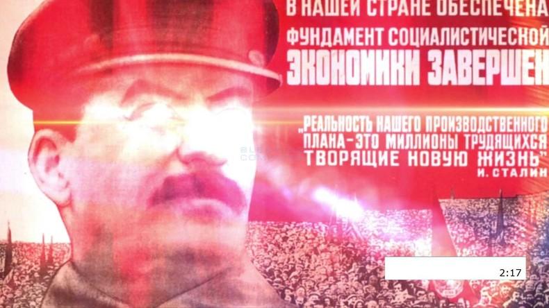 Stalin-Bild und UdSSR-Hymne: Computervirus mit sowjetischer Symbolik droht mit Datenlöschung
