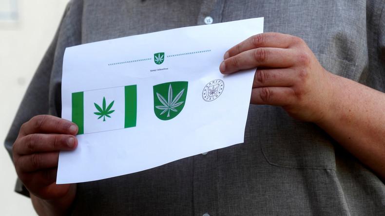 Alles im grünen Bereich: Bezirk in Estland führt Flagge mit Cannabisblatt ein