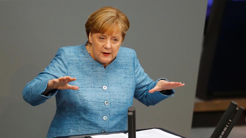 """Merkel zum Syrien-Konflikt: """"Keine Lösung ohne Russland, Iran und Türkei"""""""
