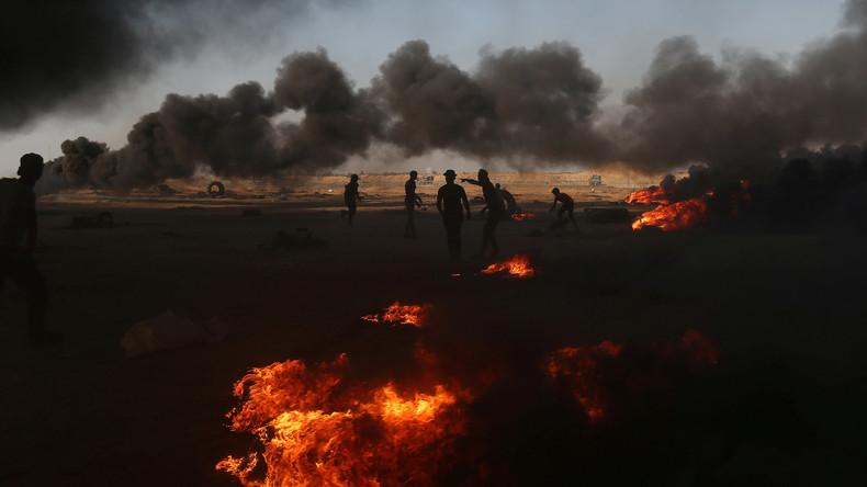 """""""Vergeltung"""": Israel fliegt Luftangriffe auf Ziele im Gazastreifen"""