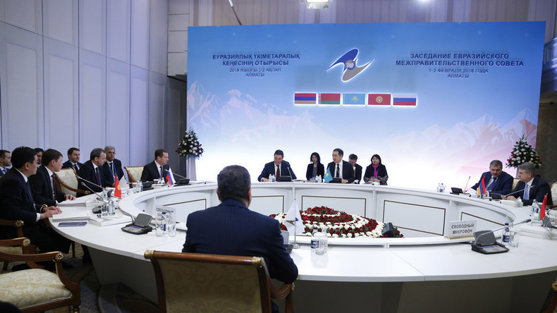 Iran unterzeichnet vorläufigen Pakt zum Eintritt in russisch geführte Freihandelszone