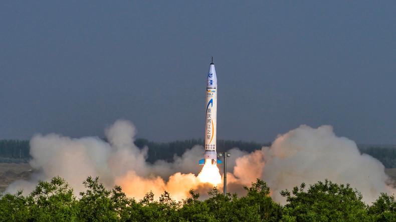 Chinesisches Startup OneSpace testet erfolgreich erste private Rakete