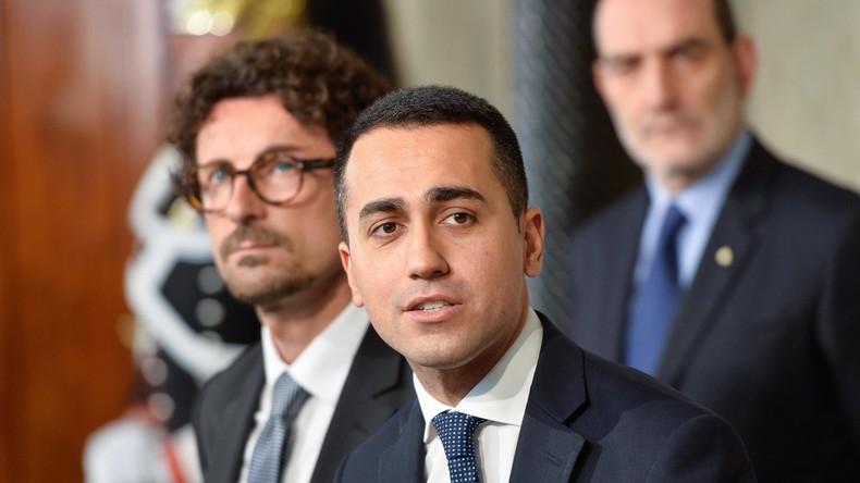 Italien: Fünf Sterne und Lega Nord einigen sich auf Entwurf für Regierungsprogramm