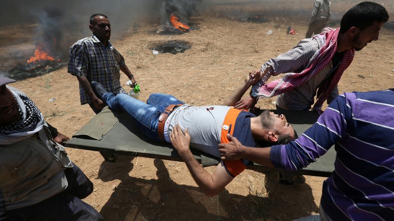 """Israel rechtfertigt Tötung von Palästinensern: """"Wir können nicht alle Leute ins Gefängnis stecken"""""""