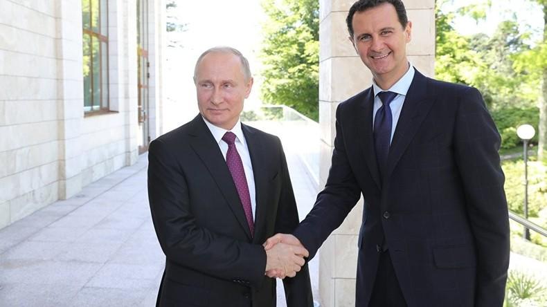 Putin fordert Abzug ausländischer Truppen aus Syrien