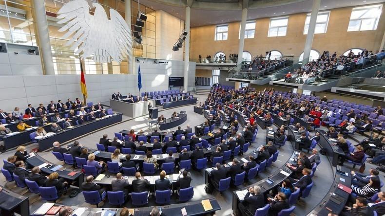 LIVE: 34. Sitzung des Deutschen Bundestages