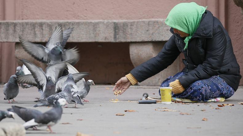 Krieg gegen Bettler? Stadt in Colorado verbietet Bürgern, auf Gehsteig zu sitzen und zu liegen