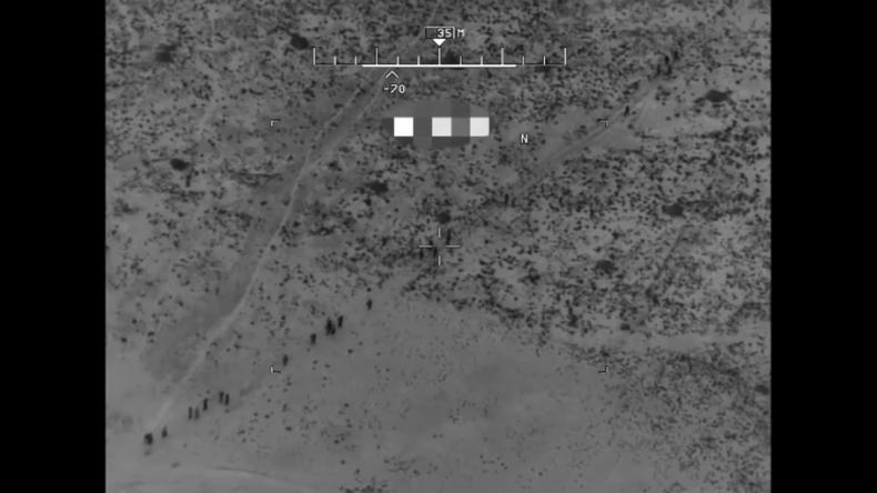 Video von Drohnen-Angriff zeigt Eliminierung von 28 islamistischen Taliban-Kämpfern