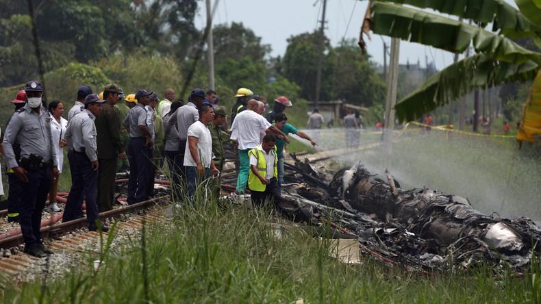 Über 100 Menschen sterben bei Flugzeugabsturz auf Kuba