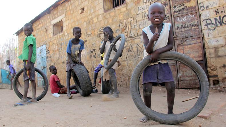 Über 200 Kindersoldaten kommen im Südsudan frei