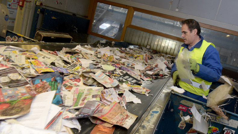 Deutsche sind Europameister im Mülltrennen