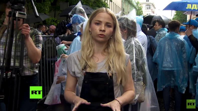 """""""Landesverrat"""" - Proteste gegen Festnahme des Leiters von RIA Nowosti Ukraine (Video)"""