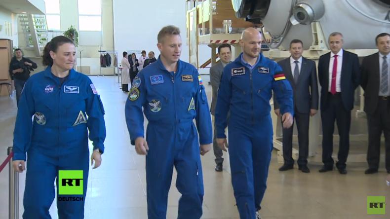 ISS-Expedition 56/57: Die letzten Trainingseinheiten im Sternenstädtchen
