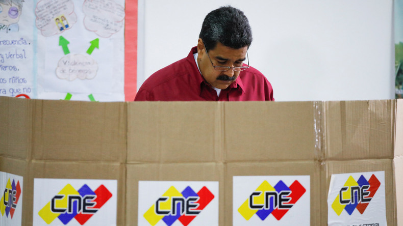 Venezuela wählt Staatschef