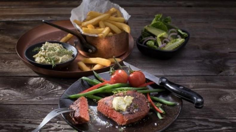 Doppelgänger im Regal: Ein pflanzliches Steak bei Tesco schmeckt wie Fleisch