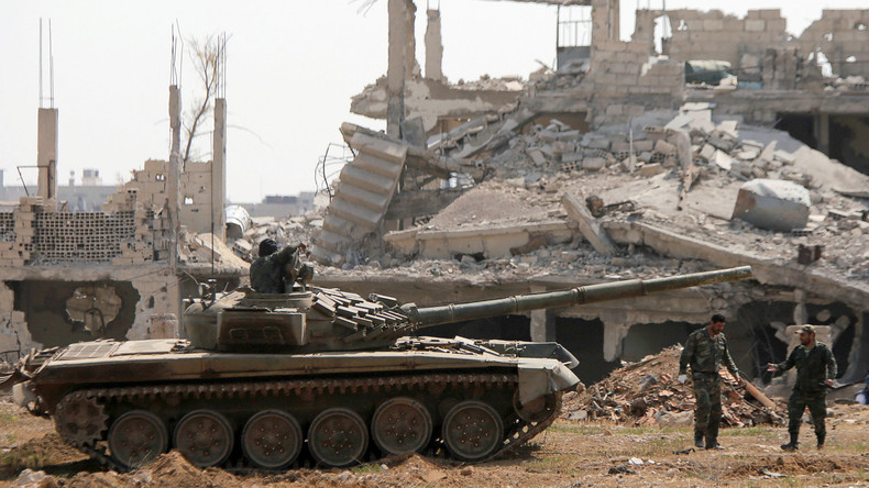Syrische Regierungsarmee vernichtet letzte IS-Positionen in Vororten von Damaskus