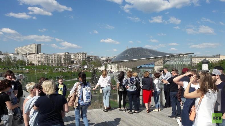 Kulturschock: Eine Nacht mit deutschen Moskau-Touristen