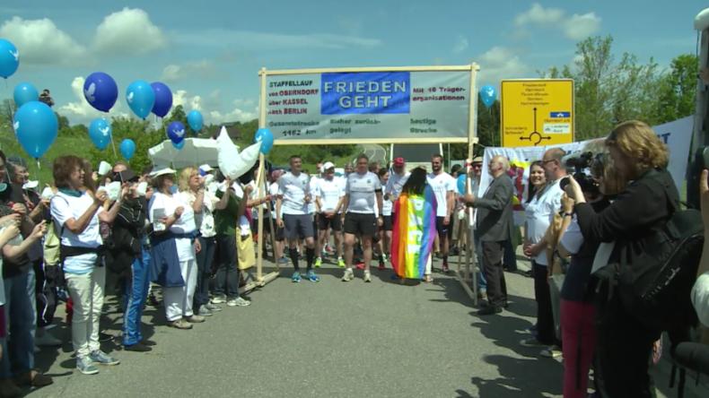 Zweiwöchige Protestreihe vor Heckler & Koch gestartet: 1.162 Kilometer gegen deutsche Waffenexporte