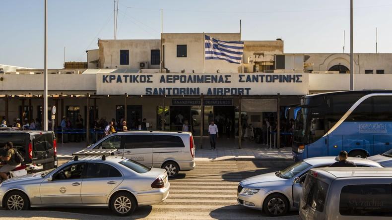 Griechische Polizei nimmt Dutzende Migranten fest
