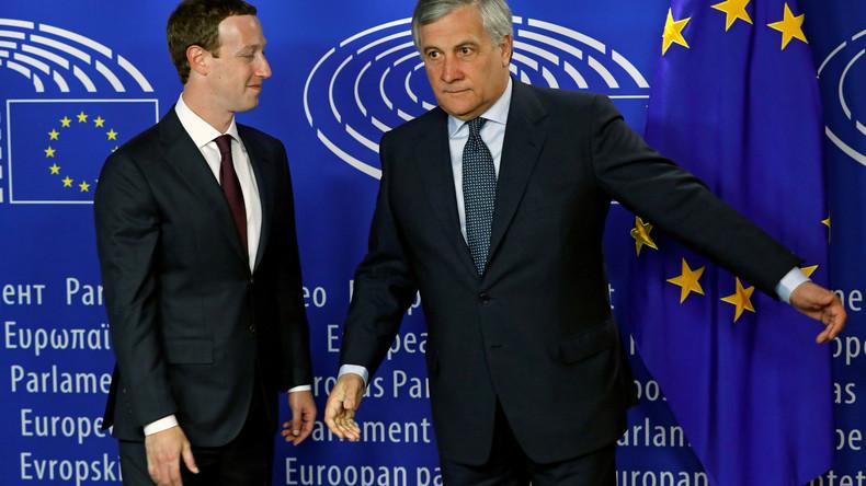 Mark Zuckerberg im Schwitzkasten des EU-Parlaments: Böse Russen und gute Amerikaner