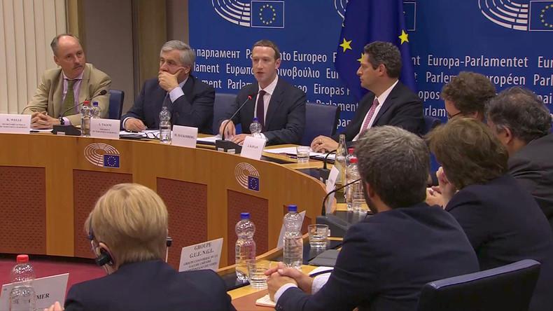 "Kritik an Facebook-Chef in Brüssel: ""Das war zu kurz, das war zu flach"""