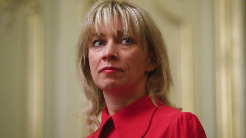 LIVE: Wöchentliche Pressekonferenz der Sprecherin des russischen Außenministeriums Maria Sacharowa