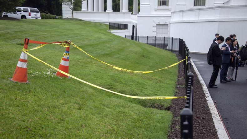 Ein Erdloch mitten im Garten des Weißen Hauses: Öffnet die Hölle ihre Pforten?