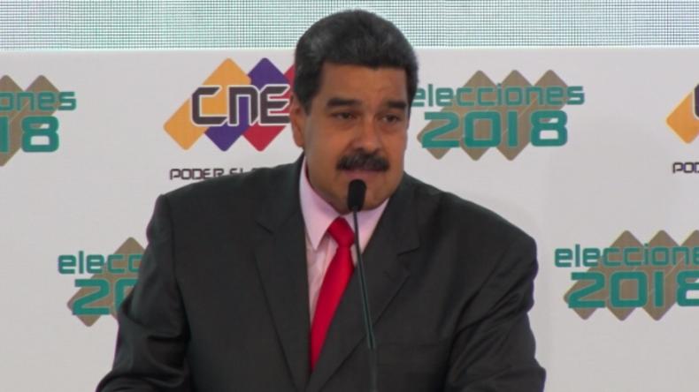 """""""Wahleinmischung"""": Venezuelas wiedergewählter Präsident Maduro wirft US-Diplomaten aus dem Land"""