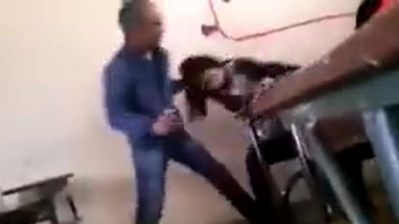 """Marokko: Lehrer drischt auf Studentin ein und beschimpft sie als """"Prostituierte"""""""