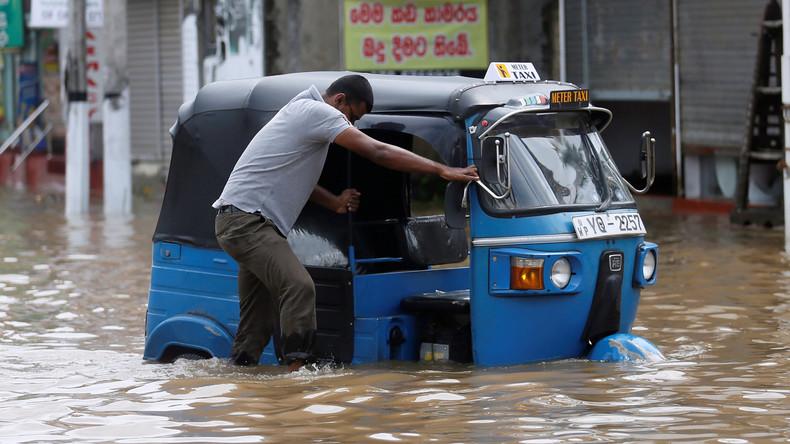 Monsun auf Sri Lanka tötet elf Menschen