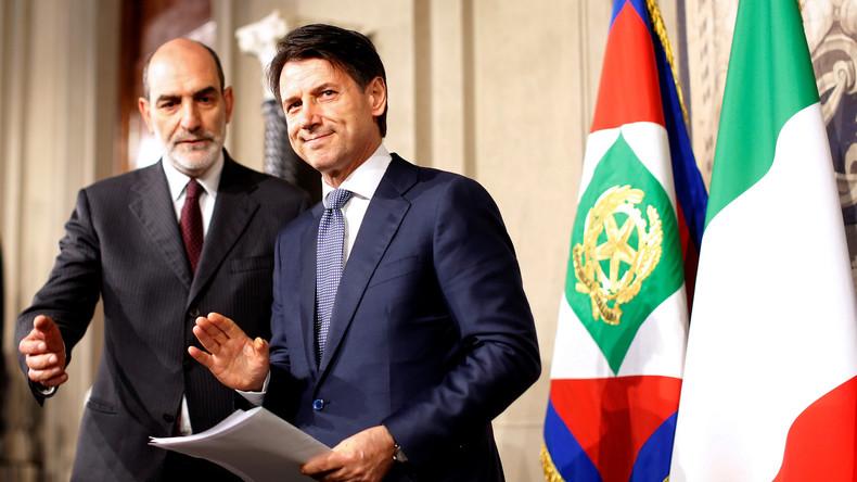 Startschuss für neue Regierung in Italien: Giuseppe Conte bekommt Regierungsauftrag
