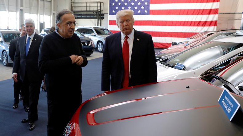 """""""Amerika zuerst"""": Trump nimmt den Kampf gegen Automobilimporte auf"""