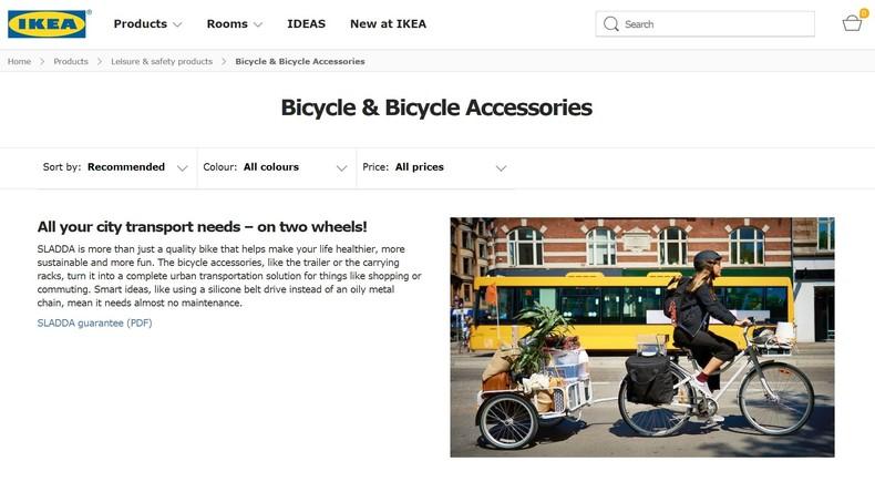 "IKEA ruft Fahrrad ""Sladda"" wegen Sturzgefahr zurück"