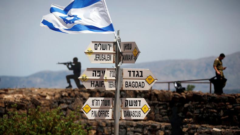 Israelischer Minister: Washington will israelische Annexion der Golanhöhen anerkennen