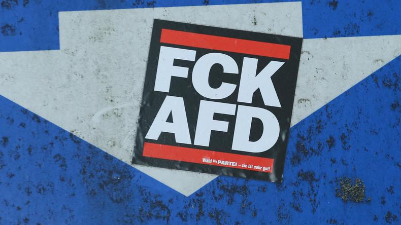 """Unbekannte veröffentlichen """"Krawall-Aufruf"""" gegen AfD-Parteitag (Video)"""