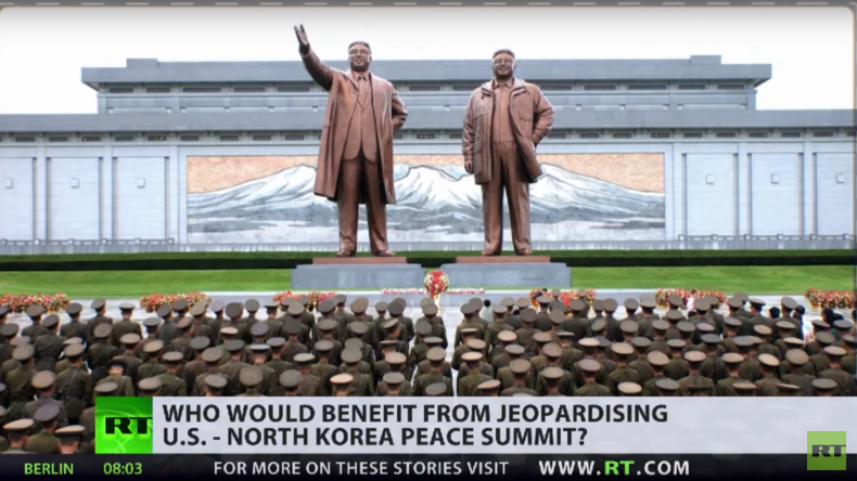 """Viele profitieren vom """"Bösewicht Nordkorea"""" (Video)"""