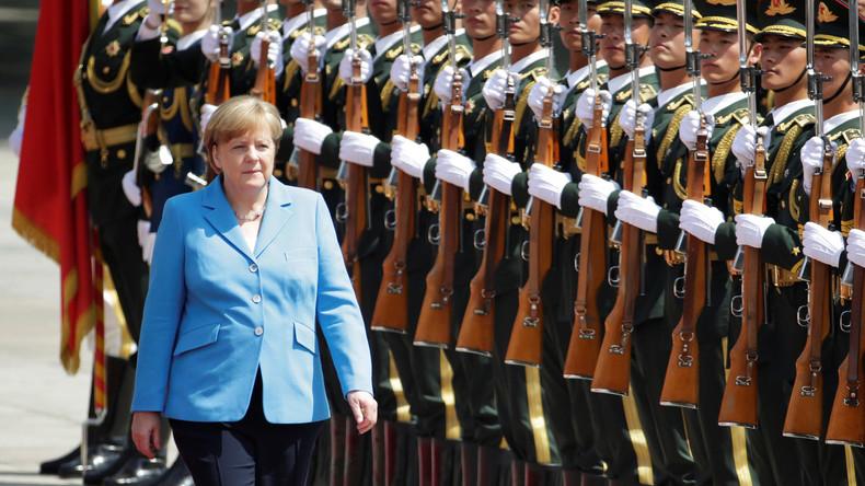 Staatsbesuch mit argumentativer Schieflage: Merkel drängt in China auf Marktöffnung