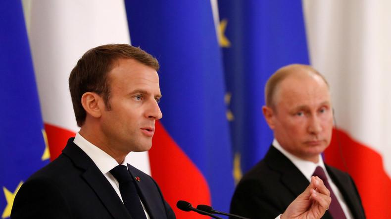Frankreich plant Investitionen in Russland in Höhe von einer Milliarde Dollar