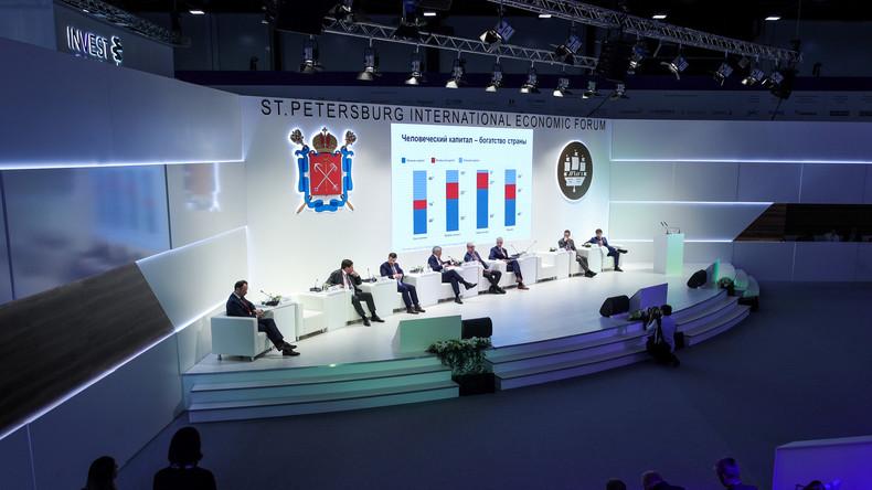 LIVE: St. Petersburger Wirtschaftsforum - Tag 2