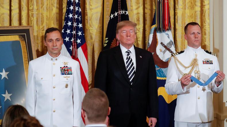 Falscher Held? Kontroverse über Auszeichnung eines Navy Seals für Afghanistan-Mission