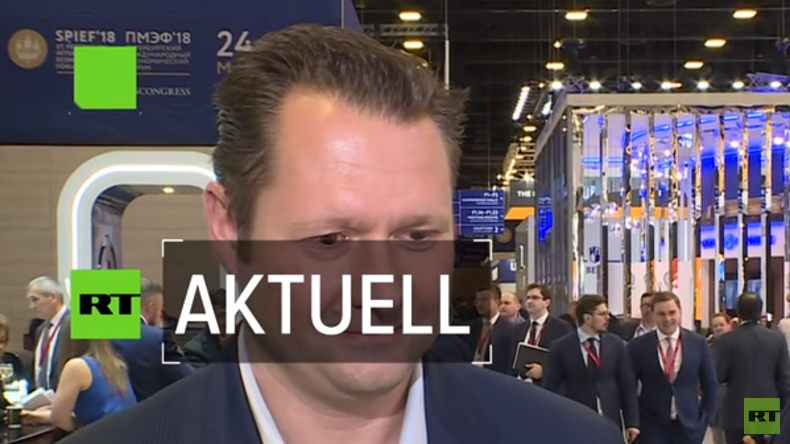 """Unsere Technologie ist perfekt für Russland!"" – Hyperloop-CEO Dirk Ahlborn im Interview (Video)"