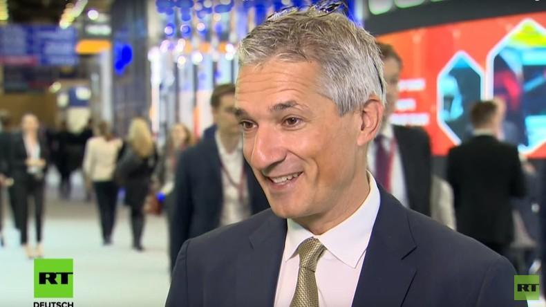 """Nord Stream 2 macht für Europa großen Sinn"" – Christoph Frei, World Energy Council (Video)"