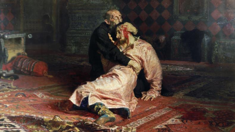 Betrunkener beschädigt berühmtes Bild von Ilja Repin