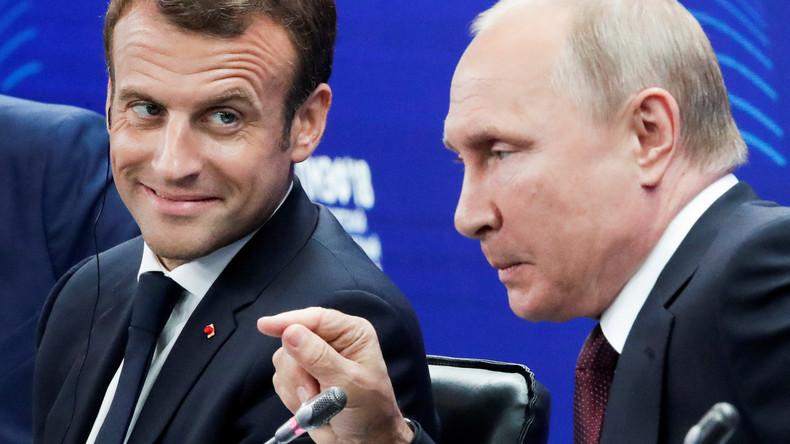 Macrons Mission in St. Petersburg: Russland soll in europäischer Familie bleiben