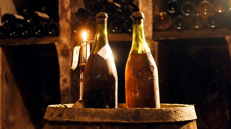 Auktion in Frankreich erzielt über 100.000 Euro für knapp 250 Jahre alten Wein