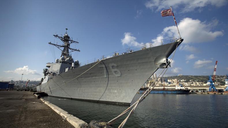 Südchinesisches Meer: China verurteilt Manöver von US-Schiffen