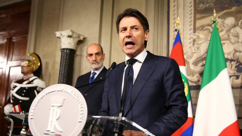 Unsicherheit in Brüssel über die Marschrichtung Italiens - Neuwahlen unausweichlich
